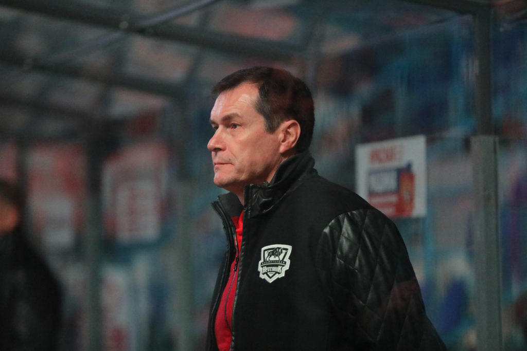 Главный тренер Ильнур Гизатуллин