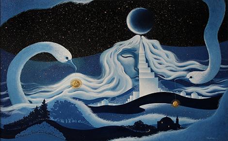 Рисунок Сон Башни Сююмбике
