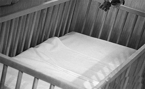 кровать ребенок